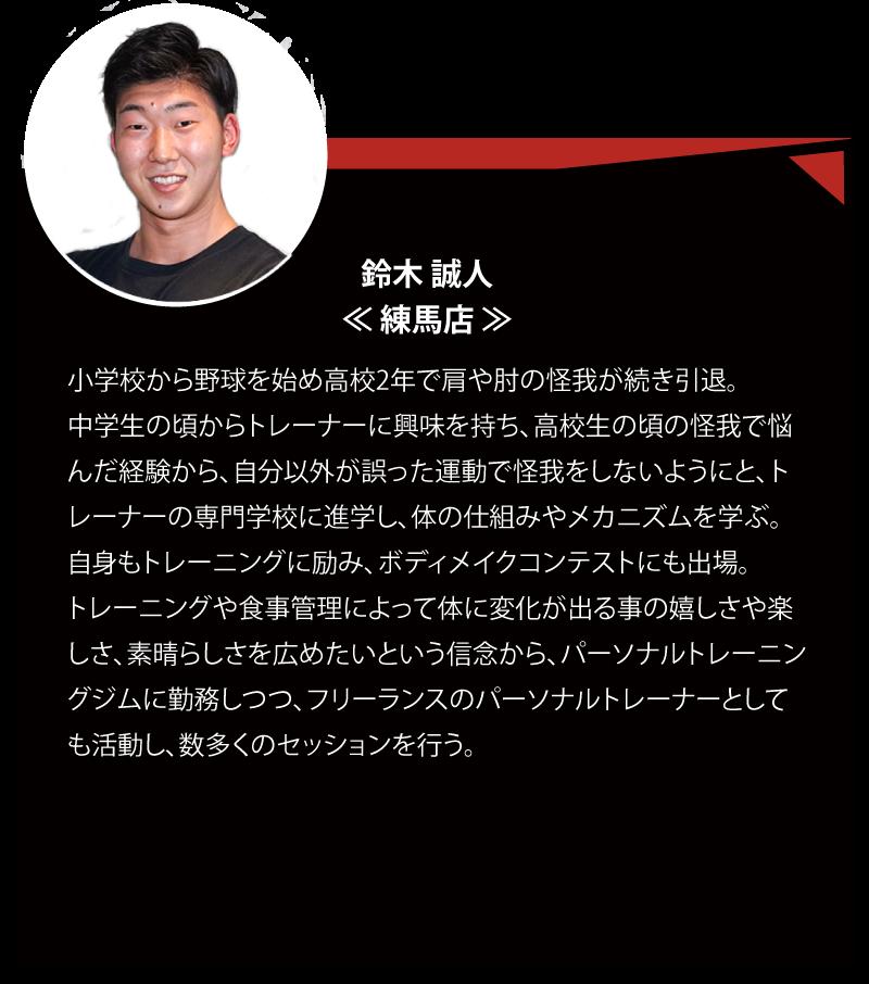 DEEDスタッフ 鈴木 誠人